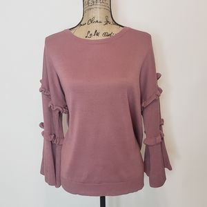 NWT Neiman Marcus Bell Sleeve Sweater